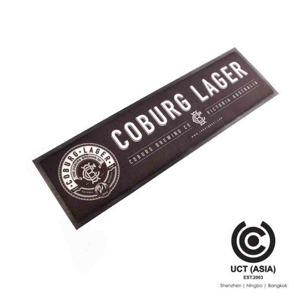 Coburg Lager Bar runner