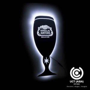 Stella Artois Light sign