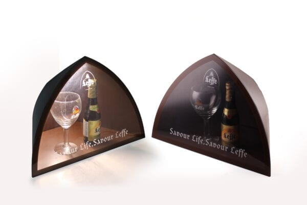 Leffe LED bottle display - Branded Merchandise