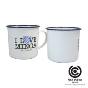 Customized Branded Enamel Mugs