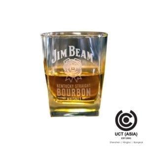 แก้ววิสกี้ตรา Jim Beam