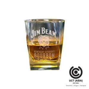 Jim Beam Promotional Branded Whisky Glass