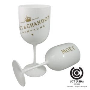 Moet & Chandon Branded Acrylic Champagne Flute