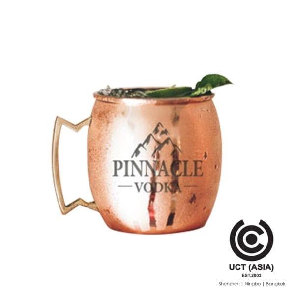 แก้วมัลมูเลมอสโกมอสโควซิลสกรีนตรา Pinnacle Vodka