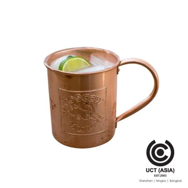 แก้วแกะสลัก Moscow Mule Mug