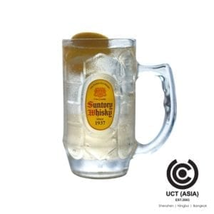 แก้วไฮบอลตรา Suntory