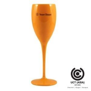 แก้วแชมเปญอะคริลิค ตรา Veuve Cliquot