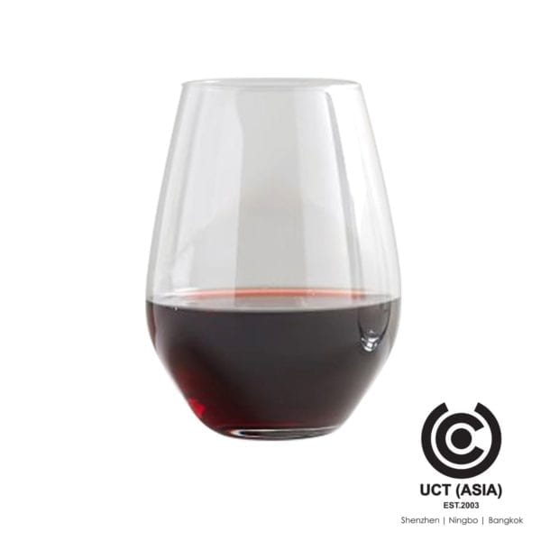 Add your brand to a Tumbler Wine Glass