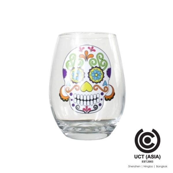 ออกแบบแก้วไวน์ Tumbler สำหรับส่งเสริมการขายที่มีตราสินค้าของคุณ