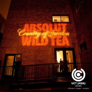 ABSOLUT Go Bo Projector