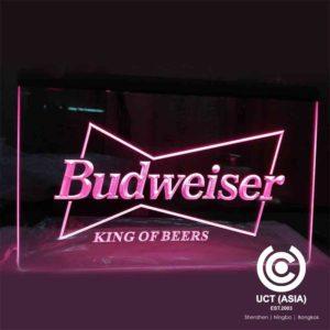 Budweiser Light Signs