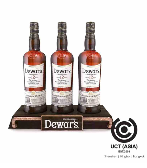 Dewar's Bottle Glorifiers